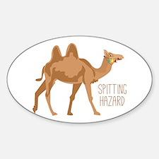 Spitting Hazard Decal