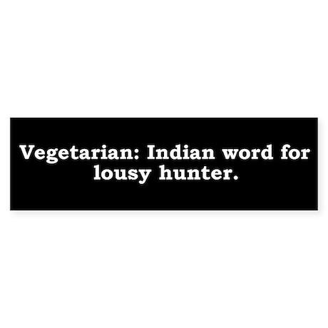 Vegetarian dating a hunter