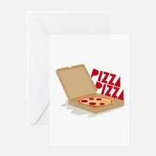 Pizza Pizza Greeting Cards