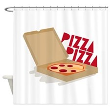 Pizza Pizza Shower Curtain