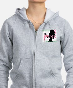 Southern Laced Breast Cancer Aw Zip Hoodie