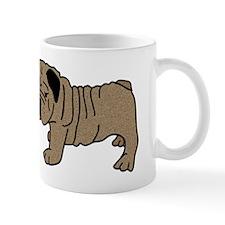 I Heart <3 Love Bull Dogs Mug