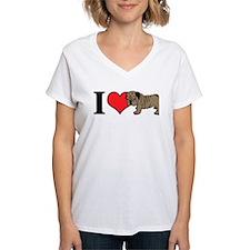 I (Heart) Bulldogs! Shirt