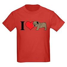 I (Heart) Bulldogs! T
