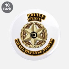 "Police 3.5"" Button (10 pack)"