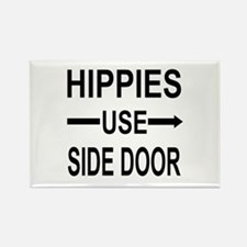 HIPPIES Rectangle Magnet