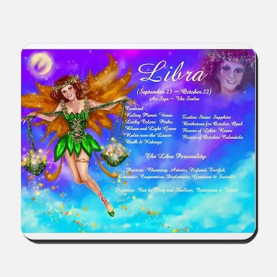 Goddess Libra Mousepad