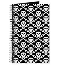Skull and Crossbones Pirate Journal
