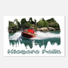 Niagara Jet Boat Postcards (Package of 8)