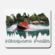 Niagara Jet Boat Mousepad