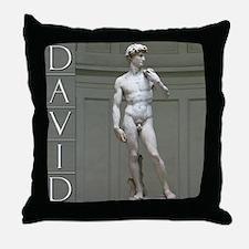 David Throw Pillow