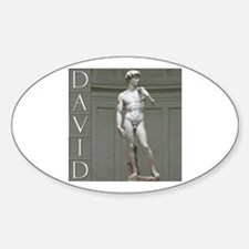 David Oval Decal