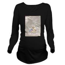 Funny Warriors Long Sleeve Maternity T-Shirt
