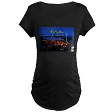 Brighton Pier Pro Photo Maternity T-Shirt