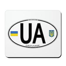 Ukraine Intl Oval Mousepad