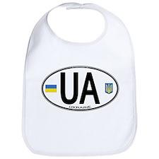 Ukraine Intl Oval Bib