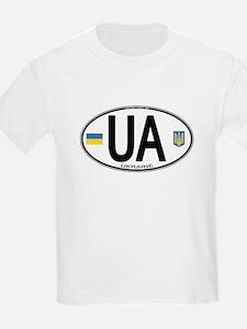Ukraine Intl Oval T-Shirt