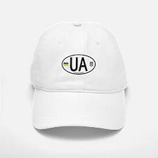 Ukraine Intl Oval Baseball Baseball Cap