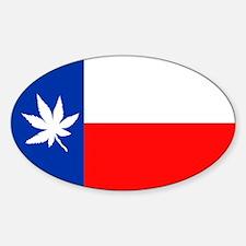 TEXANNABIS FLAG.... Decal