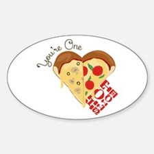 One Hot Slice Decal