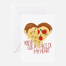 Piece of My Heart Greeting Cards
