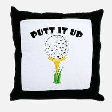 Putt it Up Throw Pillow