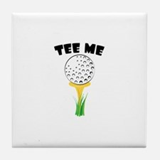 Tee Me Tile Coaster