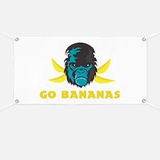 Go Bananas Banner