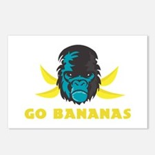 Go Bananas Postcards (Package of 8)