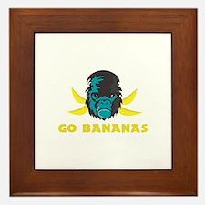 Go Bananas Framed Tile