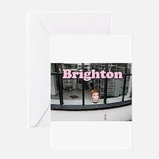 The Lanes Brighton 01 Greeting Cards