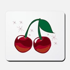 Sparkling Cherries Mousepad