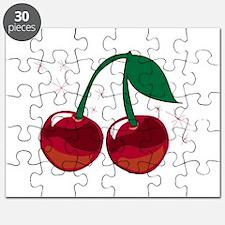 Sparkling Cherries Puzzle
