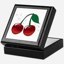 Sparkling Cherries Keepsake Box
