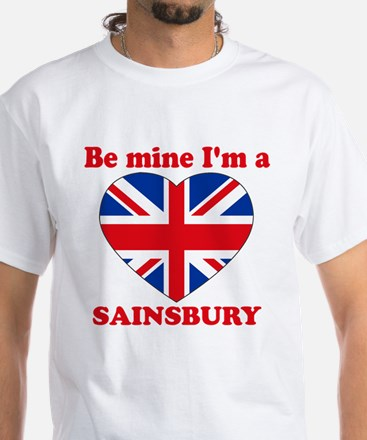 Sainsbury, Valentine's Day White T-Shirt