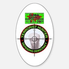 Hunting Hunting Oval Decal
