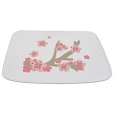 Cherry Blossoms Bathmat