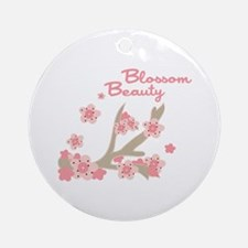 Blossom Beauty Ornament (Round)