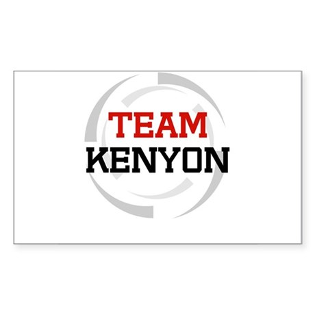 Kenyon Rectangle Sticker