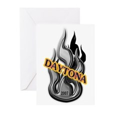 daytona bike rally 2007 Greeting Cards (Package of