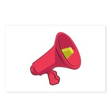 Bullhorn Postcards (Package of 8)