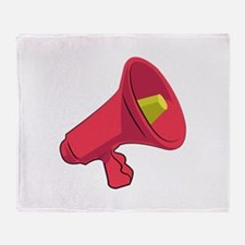Bullhorn Throw Blanket