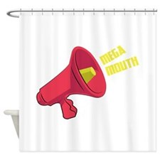 Mega Mouth Shower Curtain