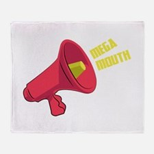 Mega Mouth Throw Blanket