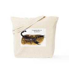 Common Black Scorpion Tote Bag