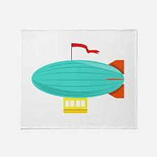 Zeppelin Throw Blanket