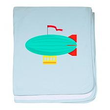 Zeppelin baby blanket