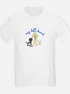 Best Friends Cat DoodleDog T-Shirt