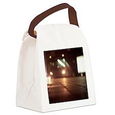 Cute Night camera Canvas Lunch Bag