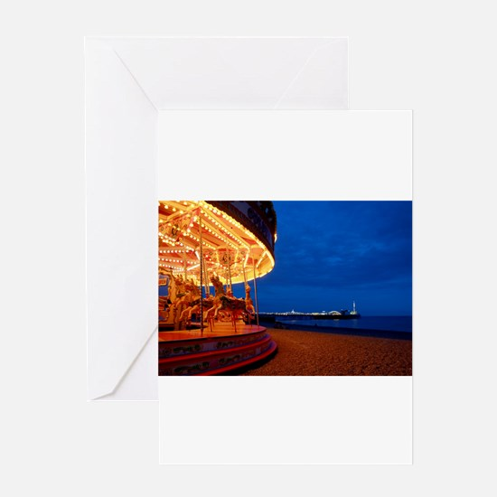 Brighton Pier Pro Photo Greeting Card